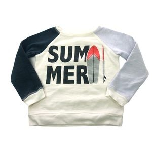 Bonton Summer Pullover Sweater